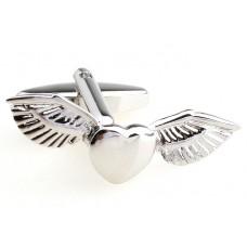Manchetknoop - Vliegend Hart