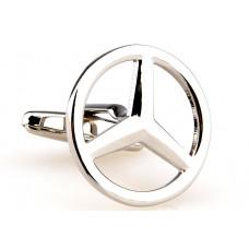 Manchetknoop - Mercedes Ster