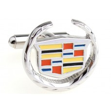 Manchetknoop Cadillac Logo