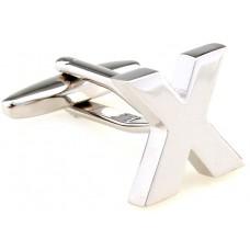 Manchetknopen Letter X