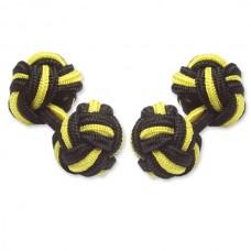 Bachelor Knot -Geel/Zwart