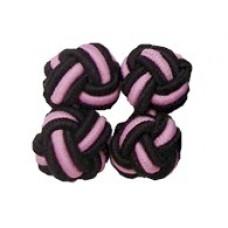 Bachelor Knots - Zwart/Roze