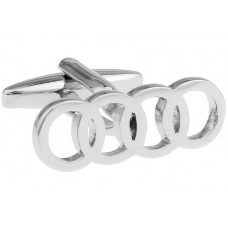 Manchetknoop Audi Logo